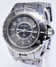 Chanel J12 Ladies 33mm Ceramic Chromatic Titanium Watch H2978