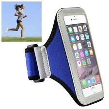 Étuis, housses et coques brassards bleus pour téléphone mobile et assistant personnel (PDA) Apple