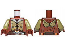 NEW LEGO - Torso - Star Wars - Jedi Knight Brown Armor and Robe - 75025 2013