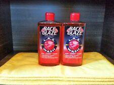 2 Pack- Race Glaze LAS Car Wash- Simply the Best! + 4 Microfibers