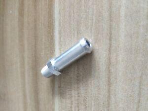 "Universally Fit All Aluminum Radiator Overflow Nipple Fitting 1/16"" NPT Each"