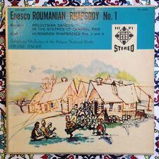 Franz Andre Enesco Roumanian Dances Stereo LP Telefunken TCS 18007