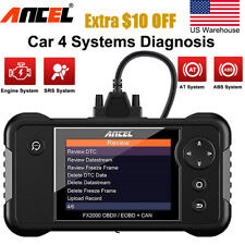 Automotive Scanner Engine ABS Airbag Transmission AT Code Reader Diagnostic Tool