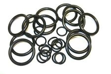 O Rings. Black. Rubber seal. Tap. Plumbing. Petrol. Diesel. Size is Inner Dia..