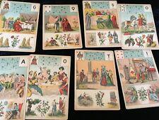 Ancien grand jeu de tarot Mlle Lenormand