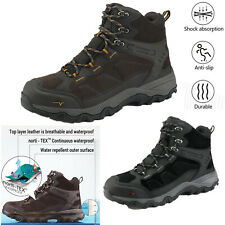 Men's Mid Waterproof Hiking Boots Military Combat Trekking Backpacking Boots