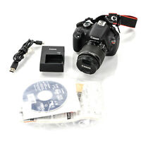 Canon EOS Rebel T5 EF-S 18-55 IS II Kit with Battery and Charger 9126B003