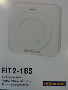 Hörmann Funk-Innentaster FIT 2-1 BS - Wandtaster - 868 Mhz - BiSecur