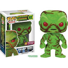 Funko 2016 SDCC PX POP Heroes Swamp Thing Flocked Scented Figure DEC1585931 USA