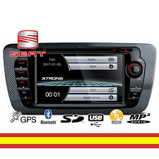 Autoradio para Seat Ibiza 6J MK4 Gps CD DVD Tactil Bluetooth USB MP3 con Canbus