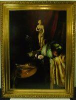 Großes Atelierstillleben In der Art von Hans Makart, um 1880, signiert, datiert