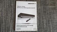 Originale Medion Bedienungsanleitung für MD 82999 guter Zustand