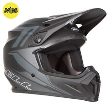 BELL MX-9 MIPS MOTOCROSS MX BIKE HELMET - BARRICADE MATTE BLACK