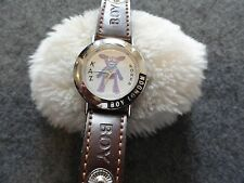 Kaz Koren Boy London Quartz Watch with a Black and Brown Band