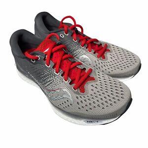Saucony Men's Freedom 3 S10543-30 Running Shoes SZ 8 Moon Rock Gray Red New