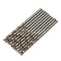 10PCS 2.5mm Micro HSS Cobalt Twist Drilling Auger Bit for Electrical Drill e
