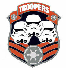 "Vintage Star Wars Giant Stormtrooper Troopers 3-D Metal Pin- 1.75""- (Swpi-15)"
