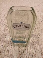 Camarena Tequila Glass Tumbler,, One Liter Recycled Bottle