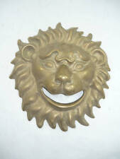 Mask Brass Burnished Solid for Fountain Lion Head