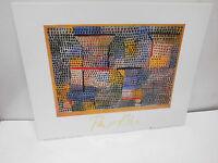 Paul Klee - Kreuze und Säulen    -   30 x 24 cm      (Reg. R.)