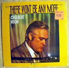 Charlie Rich  2 LP Lot  There Won't Be Anymore SS Sealed + Lonely Weekends