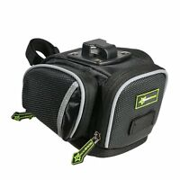 RockBros Bicycle Saddle Seat Bag Road Bike Cycling Waterproof Bag Black