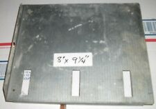 "Pinball Machine metal Coin Box lid 8"" x 9-1/4"" UNKNOWN BRAND"