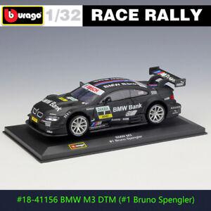 BBURAGO 1:32 BMW M3 DTM #1 racing DS WRC rally car alloy model