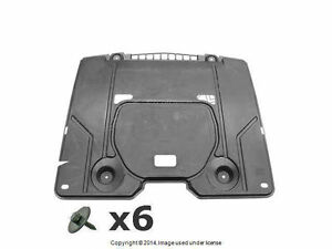 Mercedes r129 (1990-2002) Engine Compartment Shield Kit GENUINE + Warranty
