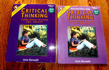 CRITIAL THINKING BOOK 1 STUDENT AND INSTRUCTION / ANSWER GUIDE ANITA HARNADE