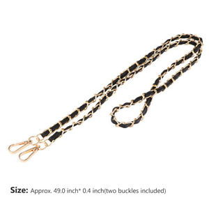 Leather Bag Chain Straps Replacement Chain for Purse Handbag Shoulder Bag Gift O