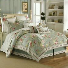 (1) New Laura Ashley Euro Sham : Eloise : Pink & Yellow Floral : Free Shipping