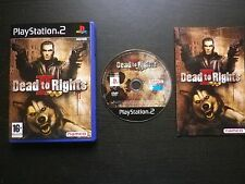 DEAD TO RIGHTS II (2) : JEU Sony PLAYSTATION 2 PS2 [Namco COMPLET envoi suivi]