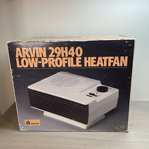 Arvinair Arvin Low Profile Heatfan Heater - White Model 29h40 Original Packaging