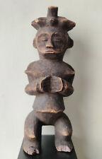 Art Tribal Africain - Belle Statue Féminine Mambila - Nigéria - 36 cm