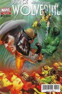 MARVEL Mexico DEATH OF WOLVERINE #1 Alex Ross Variant