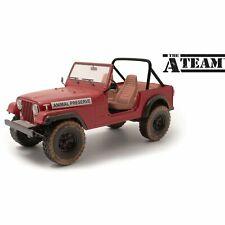 Greenlight Artisan 1/18 The A-Team 1981 Jeep Cj-7 Animal Preserve 19091