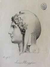 Jeune Phrygien Bonnet Phrygien Royaliste ! circa 1830 signé Monfort Révolution