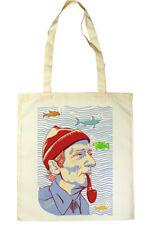 Jacques-Yves Cousteau Tote Shopper Bag