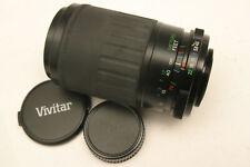 Vivitar 70-210mm F4.5-5.6 lens. M42 fit