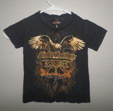 HARLEY-DAVIDSON CAFE youth XL eagle tee Las Vegas biker T shirt motorcycles
