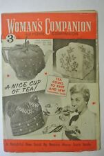 Woman's Companion Magazine . August 25th, 1956. No. 1,504. Tea Cosies To Knit Se