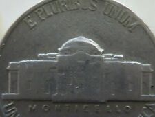 1939  Jefferson Nickel Dome doubled or damaged die