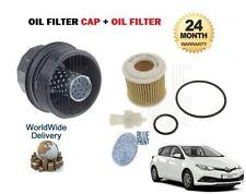 FOR TOYOTA AURIS 1.6 1.8 HYBRID 2006--> NEW OIL FILTER + FILTER PLASTIC CAP