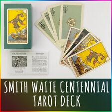 Smith-Waite Centennial Tarot Deck or Original Rider Waite Tarot Decks Cards Sets