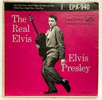 ELVIS PRESLEY - DON'T BE CRUEL/HOUND DOG +2 MORE - 1956 RCA - EPA-940 - 45 EP