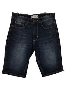 The Denim Co. Mens Size 30 Blue Denim Jean Shorts Excellent As New Condition