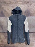 Lululemon Men's Hoodie Surge Warm Full Zip Reflective Camo - Large