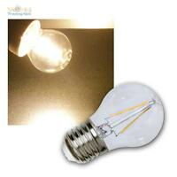 DEL Filament Ampoules Birnenform 4 W = 40 W e27 Kopfspiegel Gold Extra Blanc Chaud