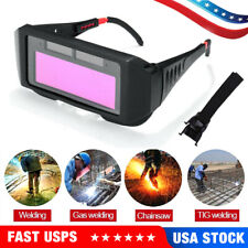 Solar Auto Darkening Welding Helmet Glasses Grinding Eyes Tig Mig Goggle
